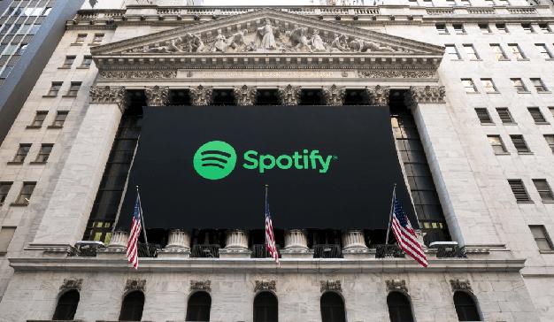Spotify triunfa en su primer día en la Bolsa con un valor de 26.500 millones de dólares