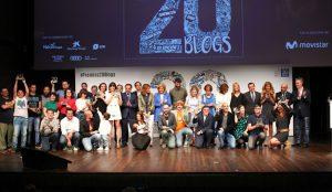 20minutos reconoce el esfuerzo de 19 blogueros en la gala 20Blogs