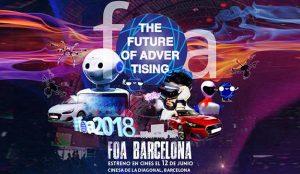El futuro llega este año en pantalla gigante en #FOABCN