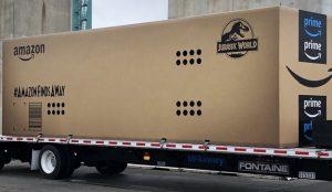 Amazon tira la casa por la ventana enviando un paquete de tamaño descomunal y con sello