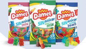 La marca Damel lanza su nueva gama de gominolas sin azúcar