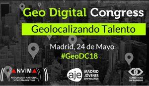 La Asociación Nacional de Vídeo Marketing celebra Geo Digital Congress