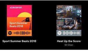 Eurosport lanza una lista de reproducción en Spotify con temas deportivos