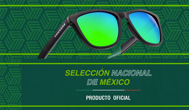 7090c7a969 Hawkers y la Selección Mexicana lanzan lentes edición limitada. Hawkers  lanza una colección exclusiva de gafas de sol ...