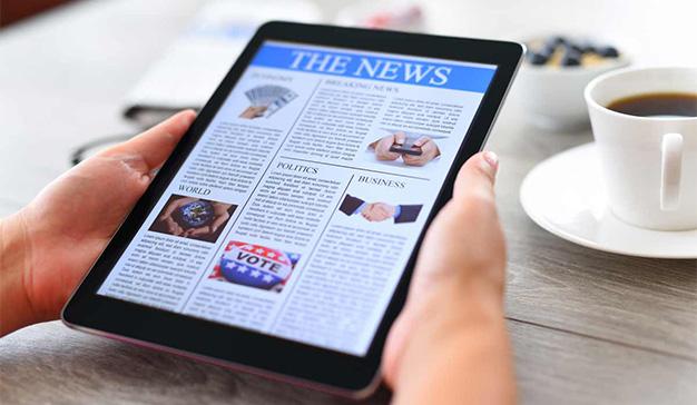 Los portales de información online han aumentado un 8% su número de lectores por el coronavirus