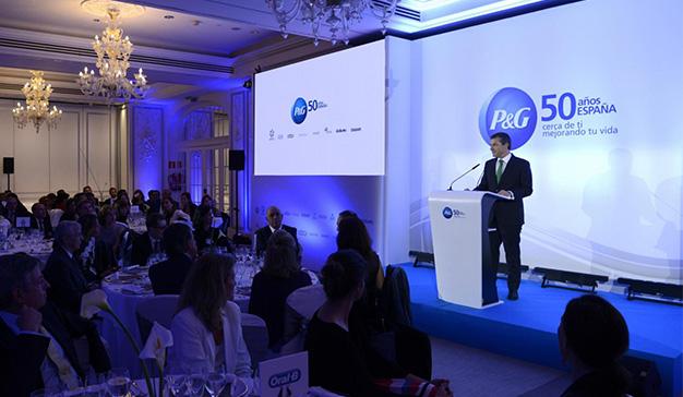 50 Aniversario de Procter & Gamble en España