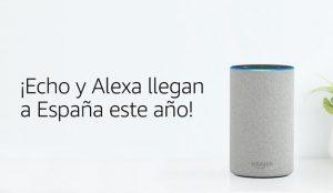 Amazon anuncia a bombo y platillo la llegada a España de Echo y Alexa