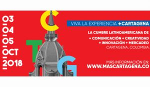 Ya esta todo listo para el evento de +Cartagena en Latinoamérica