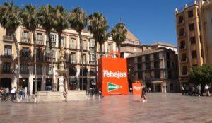 Llegan Las Rebajas de El Corte Inglés con una gran acción de street marketing