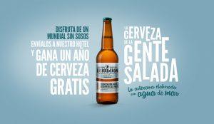 La cerveza Er Boquerón lanza su nueva campaña para disfrutar de un Mundial sin sosos