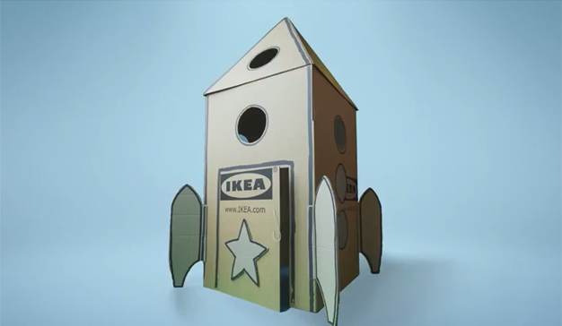 IKEA lanza una app para aprovechar al máximo las posibilidades creativas de una caja de cartón