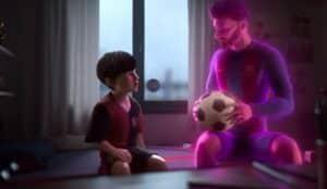 Leo Messi protagoniza un vibrante corto de animación para Gatorade de cara al Mundial