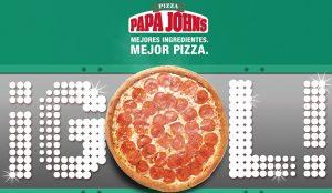 Papa John's regalará pizzas gratis si España gana el Mundial