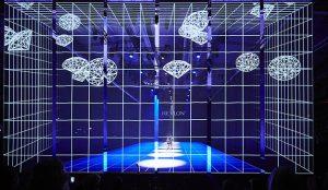 beon. Worldwide realiza en España un espectáculo visual único