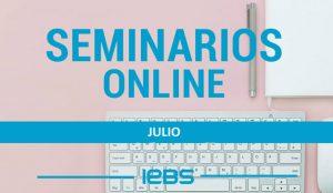IEBS pone en marcha nuevos webinars y seminarios para el mes de julio
