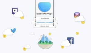 Solidarityapp lanza una herramienta de donaciones gratuitas para creadores de contenido