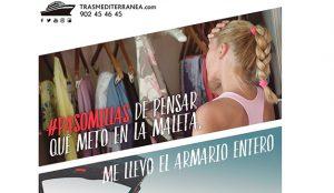 Trasmediterranea se renueva con su campaña de verano '#PasoMillas'