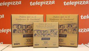 Telepizza colabora con la asociación 11q para dar visibilidad del Síndrome de Jacobsen