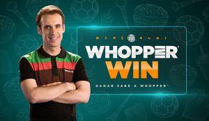 Burger King lanza Whopper Win, la casa de juegos para el Mundial