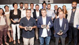 Estos son los ganadores de la 19 edición del Premio de Periodismo Accenture