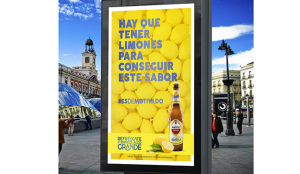 Amstel Radler saca a la calle su campaña #EsdeMotivado