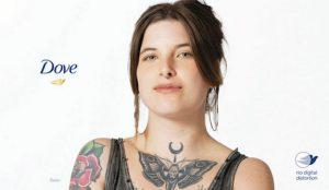 Dove desarrolla una marca de agua para garantizar la belleza sin retoques en sus campañas