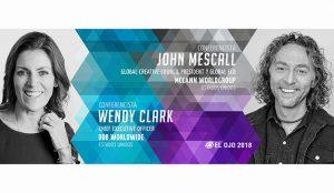 El Ojo anuncia a Wendy Clark y John Mescall como Conferencistas 2018