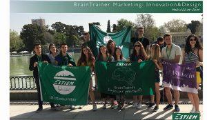 La asociación ESTIEM organizó el evento BrainTrainer Marketing: Innovation&Design