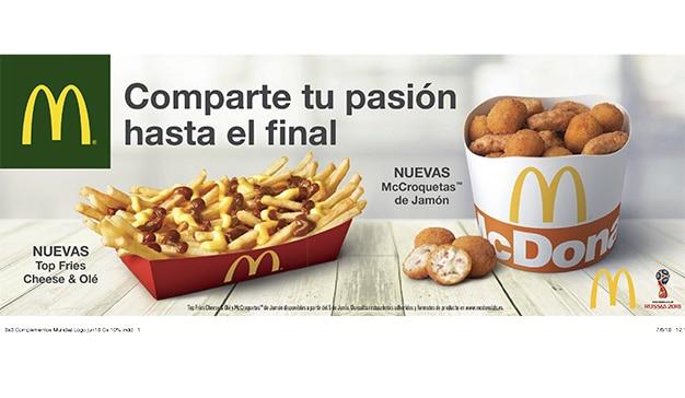 McDonald's nos invita a alimentar el amor por el fútbol de la mano de TBWA\España