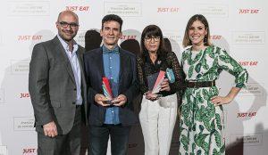 Just Eat premia a los mejores restaurantes de comida a domicilio en España