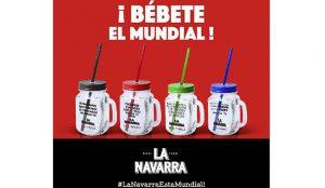 Pacharán La Navarra estrena Campaña de Publicidad para el Mundial de Fútbol