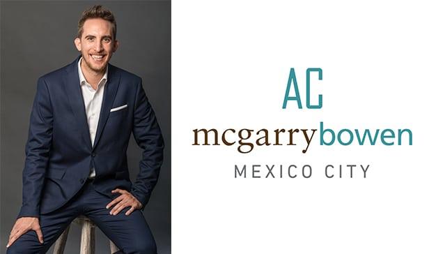 Marco Kidwell, nuevo VP de AC mcgarrybowen México