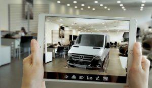 Mercedes lanza la nueva Sprinter con una acción de realidad virtual