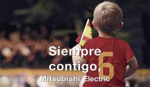 Mitsubishi Electric presenta su nueva campaña junto a dos leyendas futbolísticas