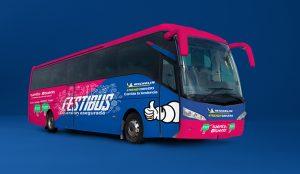 WYSIWYG*, Michelin y Tuenti crean el Festibus para que los jóvenes dejen el coche en casa