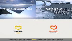 Neox hace un llamamiento junto a Greenpace para convertir el Antártico en área protegida