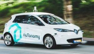 Los vehículos autónomos de nuTonomy circulan por las carreteras de Boston