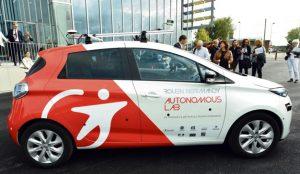 Renault pone en marcha su servicio de vehículos autónomos bajo demanda este septiembre