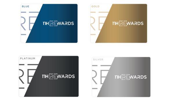 Tarjetas de NH, Blue, Gold, Platinum y Silver