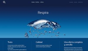 O2 confía en WYSIWYG* la creación de su web de lanzamiento en España