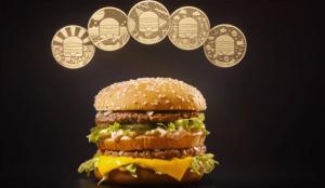 McDonald's crea su propia moneda para celebrar el 50º aniversario del Big Mac