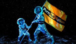 Pornhub presenta en esta exhibición su propia visión utópica del 2069