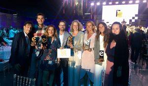 beon. Worldwide agencia más premiada en los Premios Eventoplus
