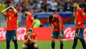 Más de 80.000 tuits despidieron a España del Mundial de Rusia