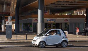 El barrio de Salamanca es el lugar donde más se utiliza el carsharing, según car2go