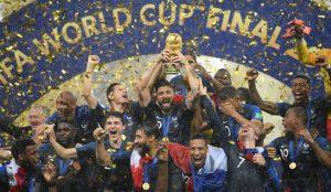 Más de 8 millones de españoles siguieron la final del Mundial de Rusia 2018 entre Francia y Croacia