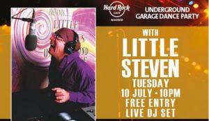 Hard Rock presenta Underground Garage Dance Party con Little Steven Van Zandt