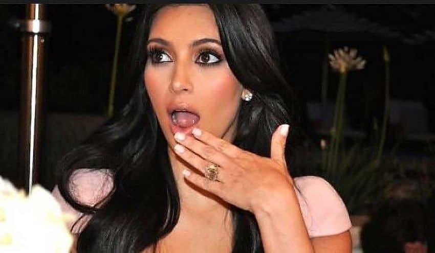 A Kim Kardashian se le va la mano con la