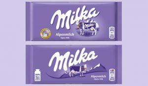 El logo de Milka pasa por el quirófano para hacerse unos pequeños retoques