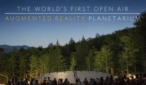 National Geographic crea un planetario de realidad aumentada al aire libre